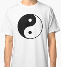 Asian Yin Yang Symbol Classic T-Shirt