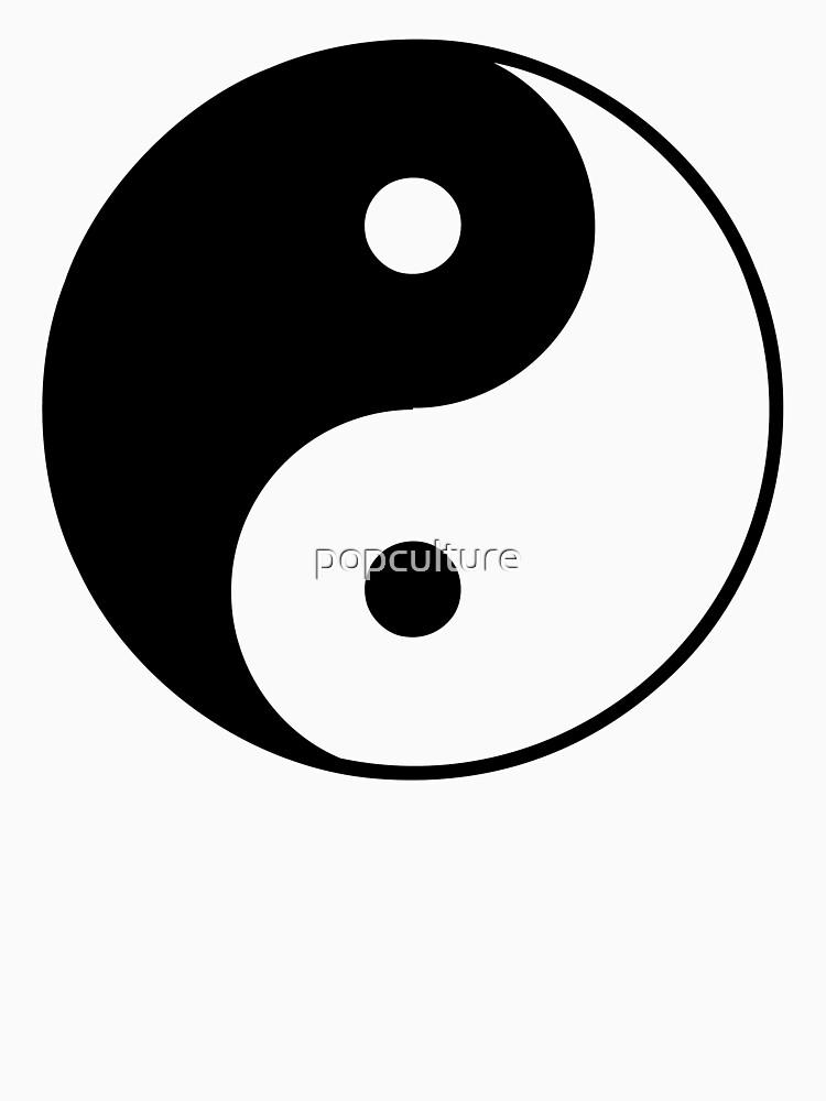 Asian Yin Yang Symbol by popculture