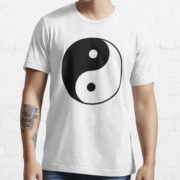 Asian Yin Yang Symbol Essential T-Shirt