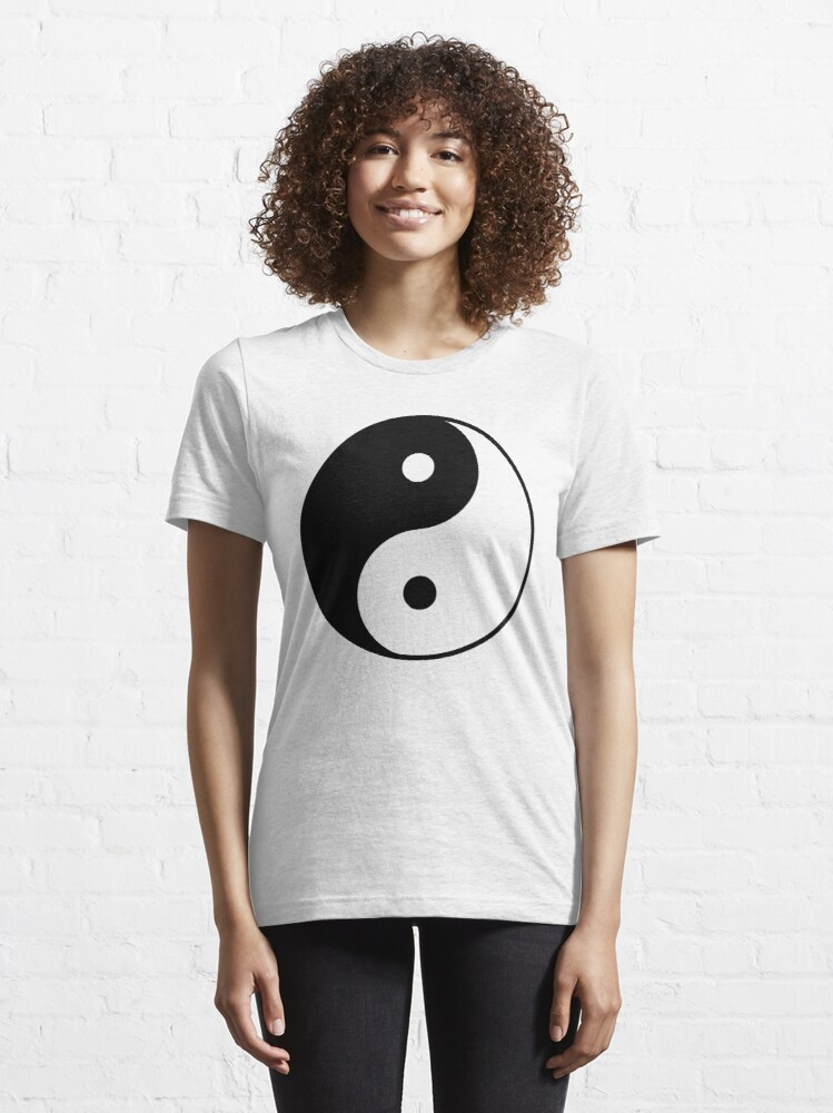 Alternate view of Asian Yin Yang Symbol Essential T-Shirt