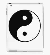 Asian Yin Yang Symbol iPad Case/Skin