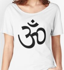 Indian Hindu Aum Om Symbol Women's Relaxed Fit T-Shirt