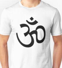 Indian Hindu Aum Om Symbol Slim Fit T-Shirt
