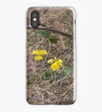 Blooming in a tough environment  iPhone Case