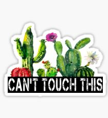 Cactuses: Can't Touch This Sticker