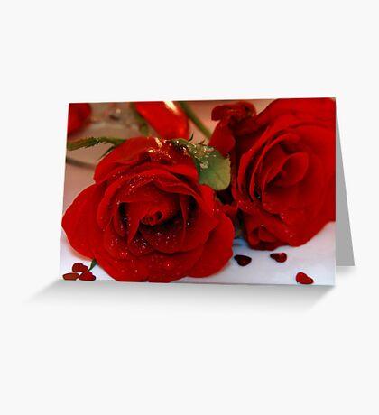 Romance Greeting Card