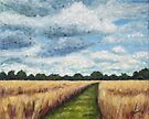 Wheat Field in Holland by Maria Meester