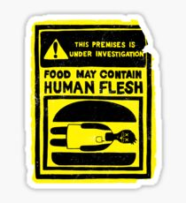 HUMAN FLESH Sticker