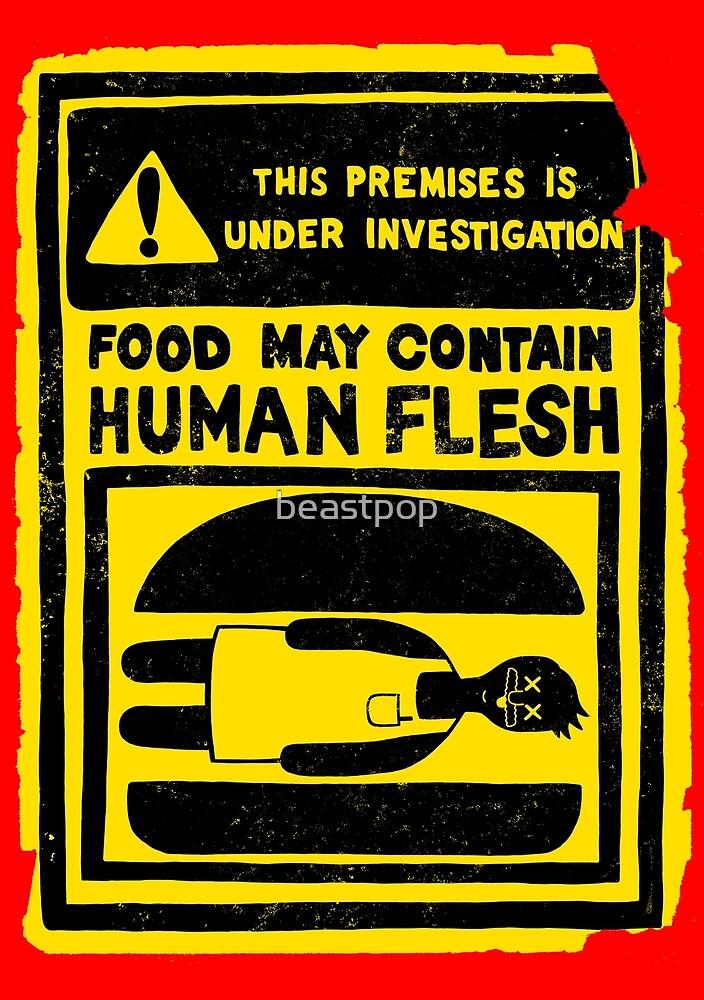 HUMAN FLESH by beastpop