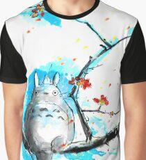 sumi-e totoro Graphic T-Shirt