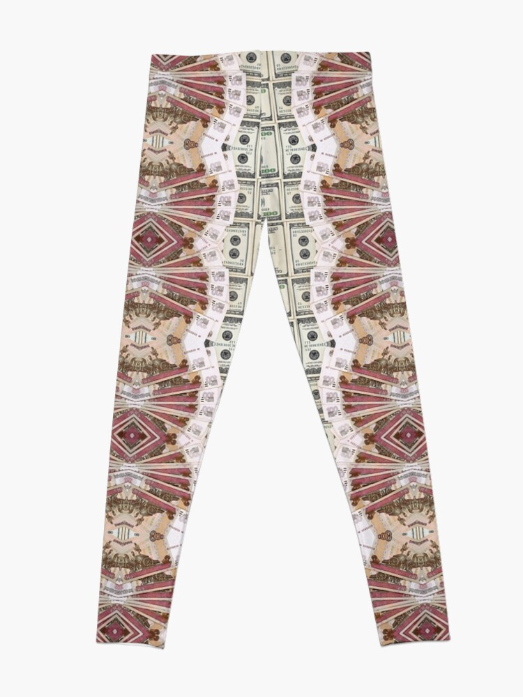 Alternate view of structure, framework, pattern, composition, frame, texture Leggings