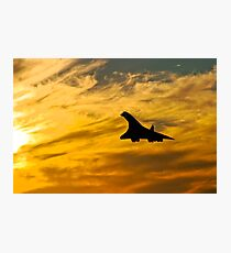 Concorde Comes Home 2 Photographic Print