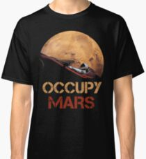 Occupy Mars Spacex Starman Classic T-Shirt