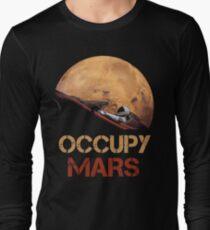 Occupy Mars Spacex Starman Long Sleeve T-Shirt