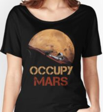 Occupy Mars Spacex Starman Women's Relaxed Fit T-Shirt