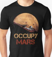 Besetze Mars Spacex Starman Slim Fit T-Shirt
