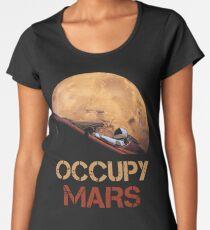 Occupy Mars Spacex Starman Women's Premium T-Shirt