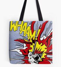 Roy Lichtenstein - Whaam! High Quality Tote Bag