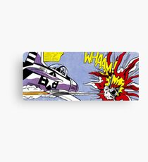 Roy Lichtenstein - Whaam! High Quality Canvas Print