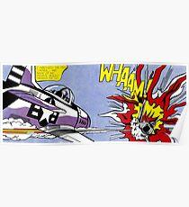 Roy Lichtenstein - Whaam! High Quality Poster