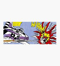 Roy Lichtenstein - Whaam! High Quality Photographic Print