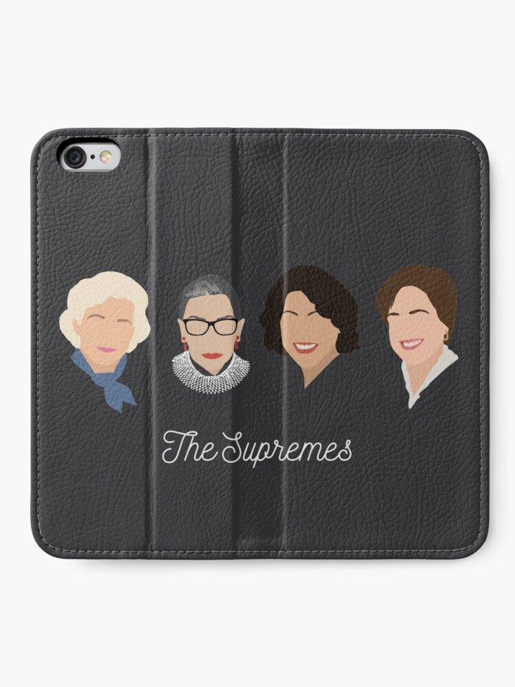 Alternate view of The Supremes iPhone Wallet