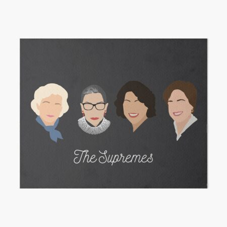The Supremes Art Board Print