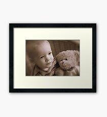 Bill & Ted Framed Print