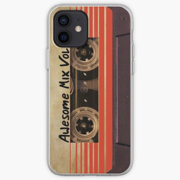Awesome Mix Vol. 1 Coque souple iPhone