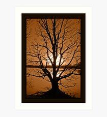 Rivington Sunset Art Print