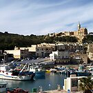 L'Mgarr Harbour Gozo Malta by DeborahDinah
