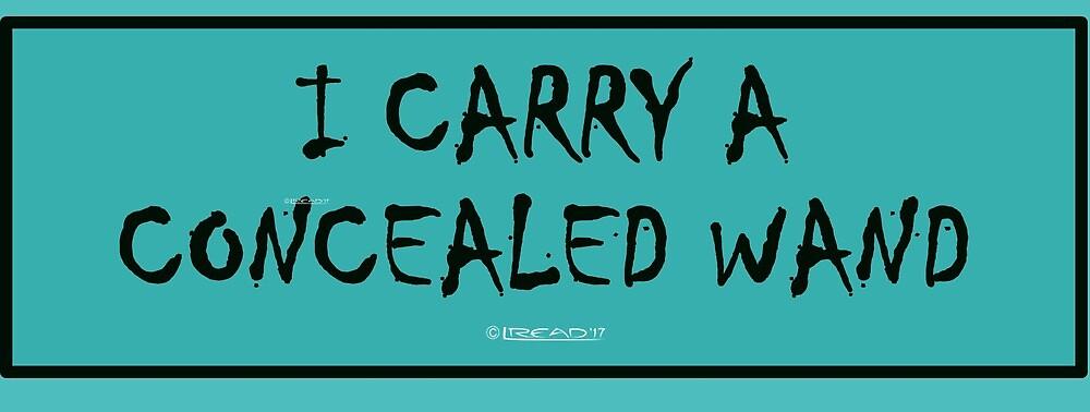 I carry a concealed wand by FunkilyMade