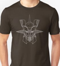 Mazinger Z - White Sketch T-Shirt