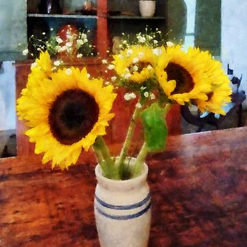 Vase of Sunflowers by SudaP0408