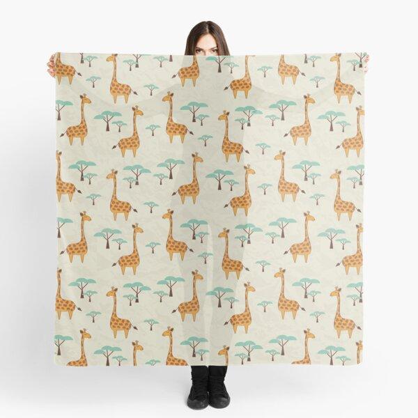 Giraffes Scarf