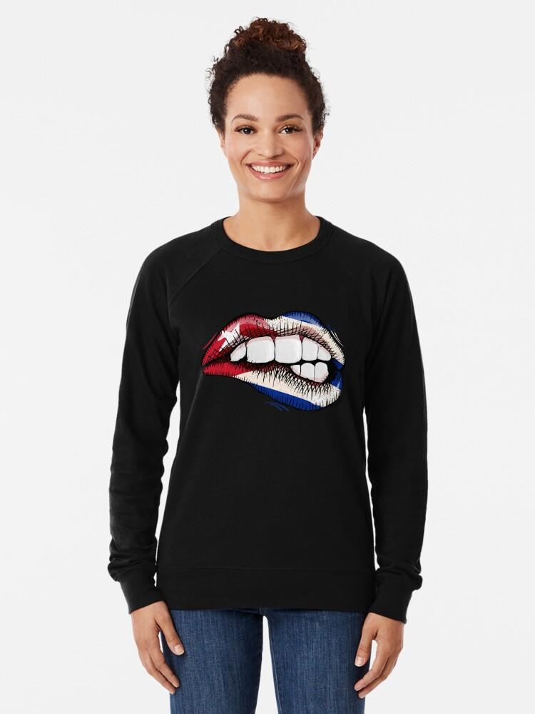 Cuban Pride Cuba Crewneck Sweatshirt