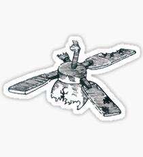 Twenty One Pilots ST Ceiling Fan Sketch  Sticker