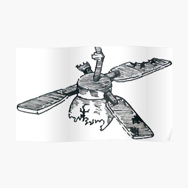 Twenty One Pilots ST Ceiling Fan Sketch  Poster