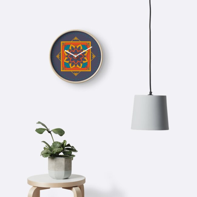 Nepalese Clock_02 by Naf4d