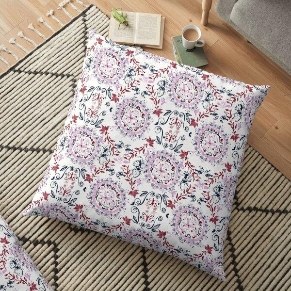 Garden of the Sun Floor Pillow