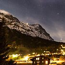 Eiger at night by Imagericius