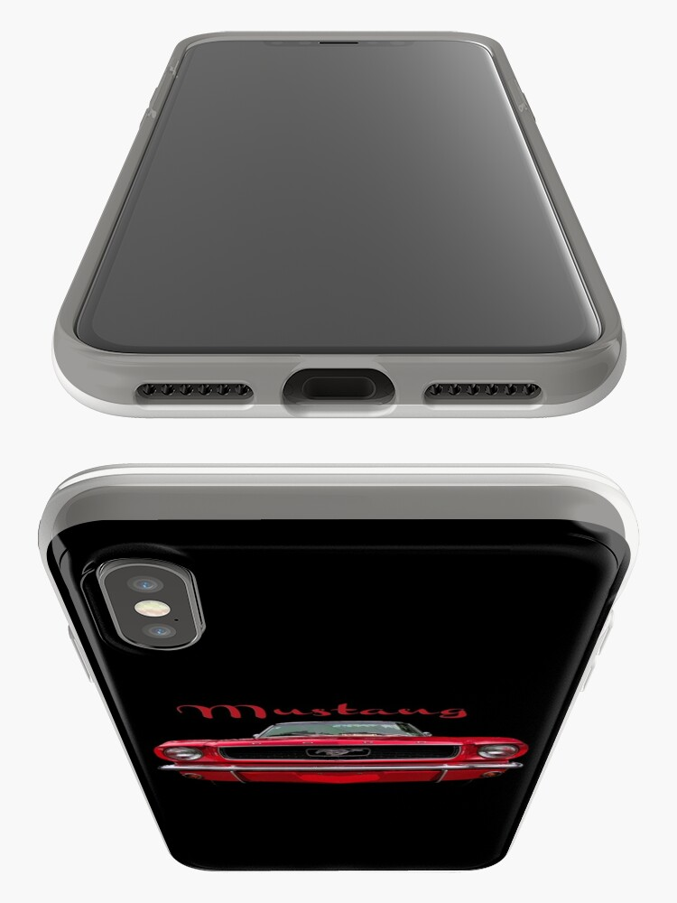 Alternate view of Little Red Mustang iPhone Case & Cover