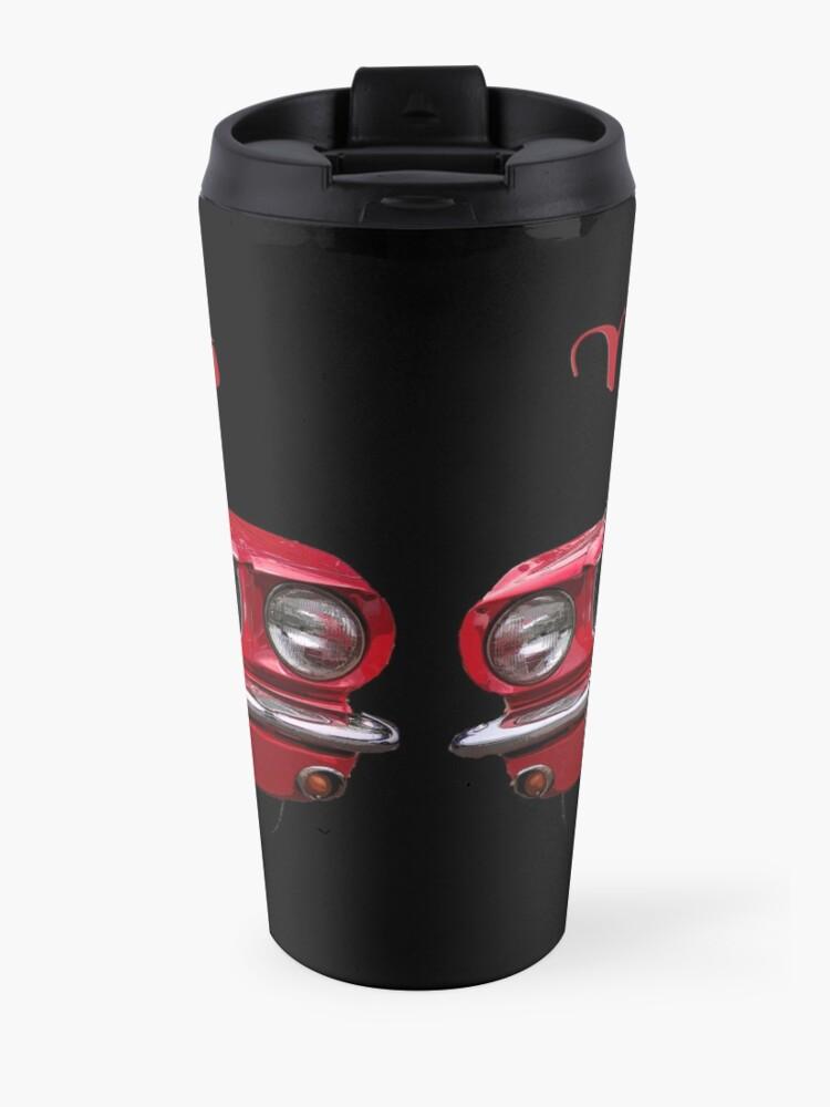 Alternate view of Little Red Mustang Travel Mug