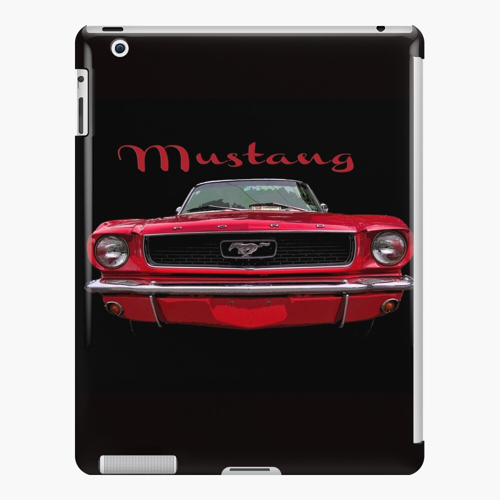 Little Red Mustang iPad Case & Skin