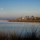 Morning Moon Setting by Jonicool