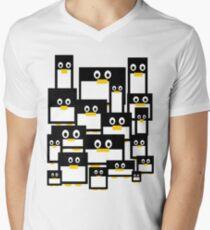 Penguin Diversity Men's V-Neck T-Shirt