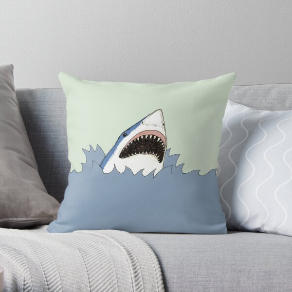 Shark Throw Pillow