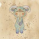 Kigurumi Chinese Zodiac: Sheep by Sophia Adalaine Zhou