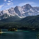 Eibsee Panorama by Imagericius