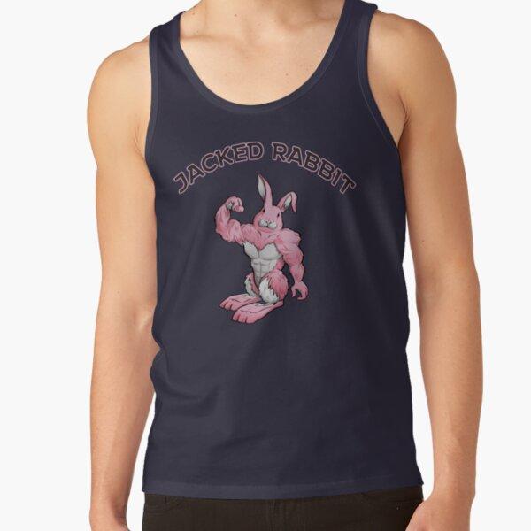 Jacked Rabbit Workout Shirt (Pink) Tank Top